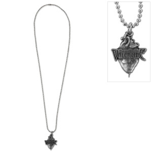 Bullet For My Valentine Heart Pewter Necklace