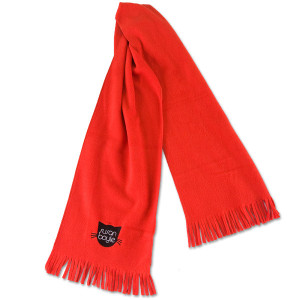 Susan Boyle Pebbles Red Scarf