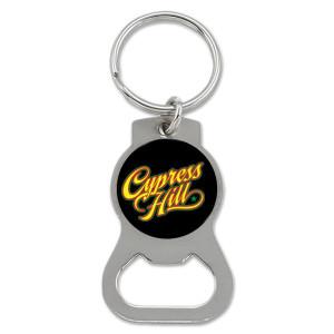 Cypress Hill Script Bottle Opener Keychain