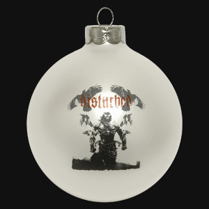 Disturbed Ravens Dare Ornament
