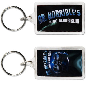 Dr. Horrible Sing-Along Blog™ Acrylic Keychain