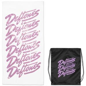 Deftones Script Towel and Bag Set