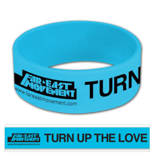 Far East Movement Turn Up The Love Bracelet