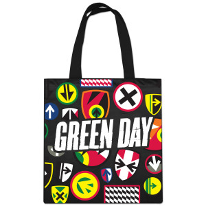 Green Day Emblem Tote