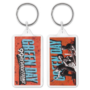 Green Day 99 Revolutions Acrylic Keychain