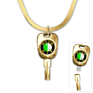 M.I.A. Bad Girls USB Necklace