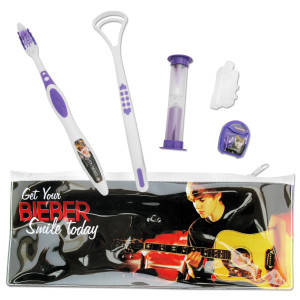 Justin Bieber Travel Kit