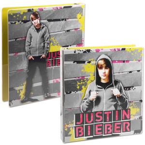 """Justin Bieber 1"""" Heat Sealed Binder - Hoodie"""