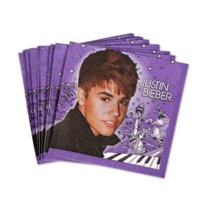 Justin Bieber 2 Beverage Napkins