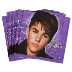 Justin Bieber 2 Lunch Napkins
