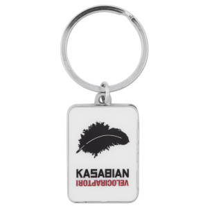 Kasabian Forgotten Metal Keychain