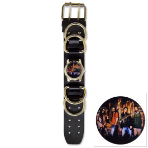 Korn Photo Single Wide D-Ring Cuff Watch