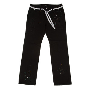 Trukfit D Splatter Slim Straight Jeans