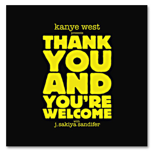 Kanye West - Thank You And You're Welcome! Book