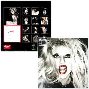 Lady Gaga 2012 12x12 Square Wall Calendar