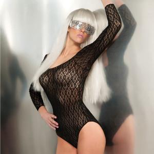 Lady Gaga Lace Bodysuit