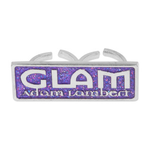 Adam Lambert Glitter Glam 2 Finger Ring