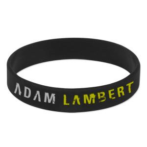 Adam Lambert Trespass Rubber Bracelet