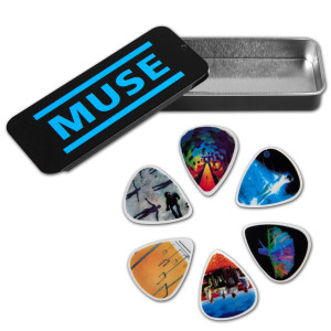 Muse Guitar Pick Tin Set