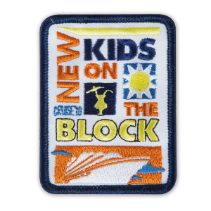 New Kids on the Block Cruise 2010 Patch