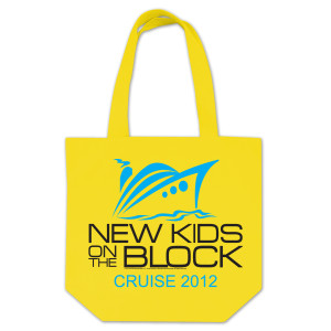 New Kids on the Block 2012 Cruise Tote Bag