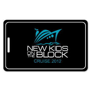 New Kids on the Block 2012 Cruise Luggage Tag