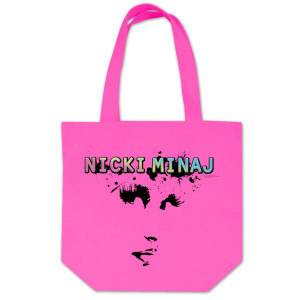 Nicki Minaj Face Tote Bag