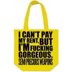 Semi Precious Weapons Gorgeous Tote Bag