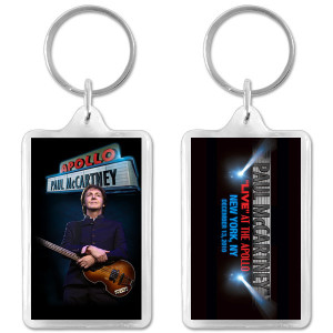 Paul McCartney Apollo Keychain