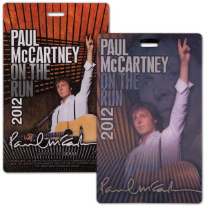 Paul McCartney OTR Laminate