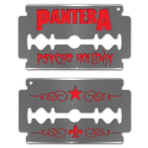 Pantera Psycho Holiday Ornament