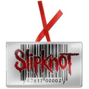 Slipknot Barcode Ornament