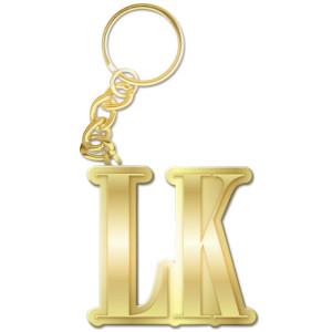 Tyga LK Keychain