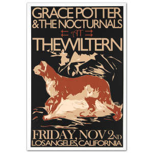 GPN Fall Lithograph - The Wiltern 11/2/2012