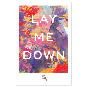 Sam Smith Lay Me Down Litho