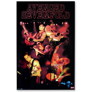 Avenged Sevenfold Collage Poster