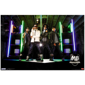 Mindless Behavior Stage Poster