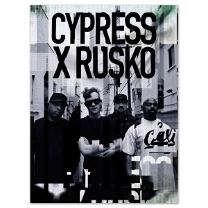 Cypress Hill & Rusko Glitch Poster