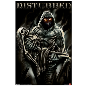 Disturbed Lost Souls Poster
