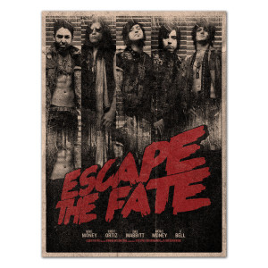 Escape the Fate Grindhouse Poster