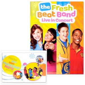 The Fresh Beat Band 2012 Tour Program