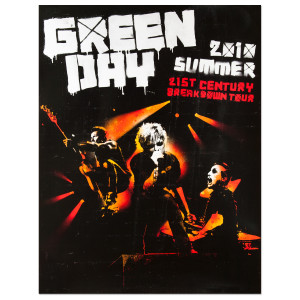 Green Day Summer 2010 Admat Poster