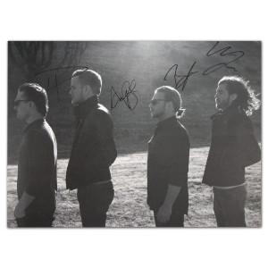 Imagine Dragons - Autographed Lithograph Poster