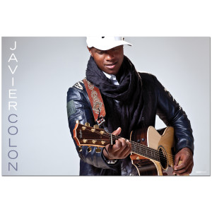 Javier Colon Guitar Photo Poster