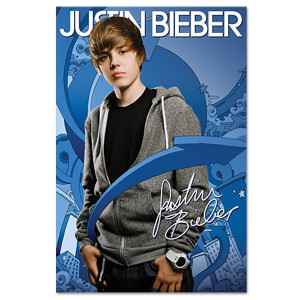 Justin Bieber Arrows Poster