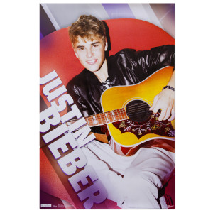 Justin Bieber Relaxing Poster