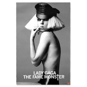 Lady Gaga Fame Monster Poster
