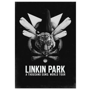 Linkin Park Girl Poster