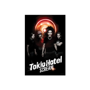 Tokio Hotel Scream Poster