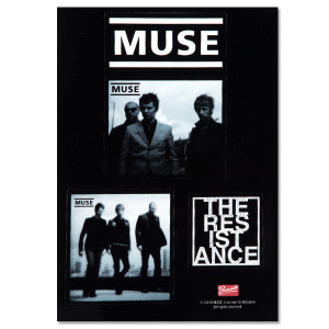 Muse Black and White Sticker Set